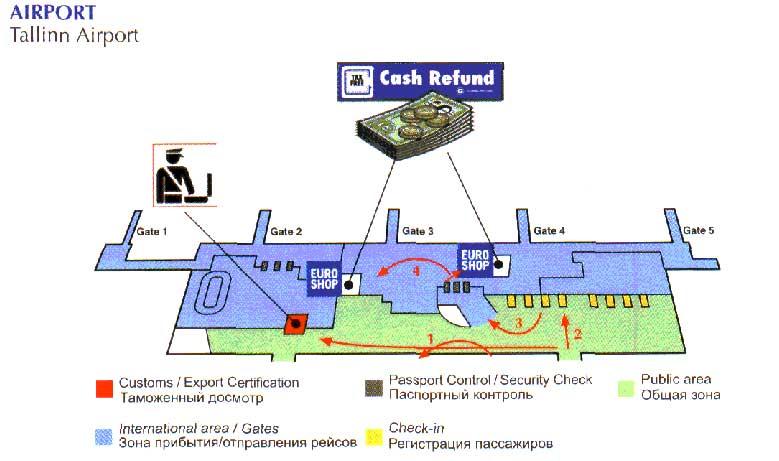 cash refund offices Estonia